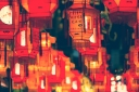 prayers in lanterns