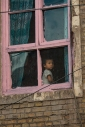 the girl in the pink window