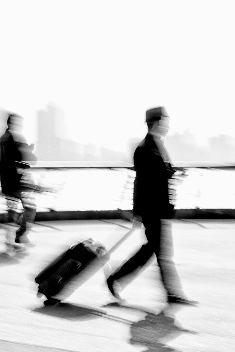 In transit~ Shanghai