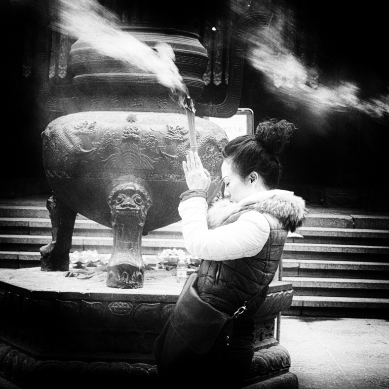 going inwards to find it~ Jade Buddha Temple~ Shanghai