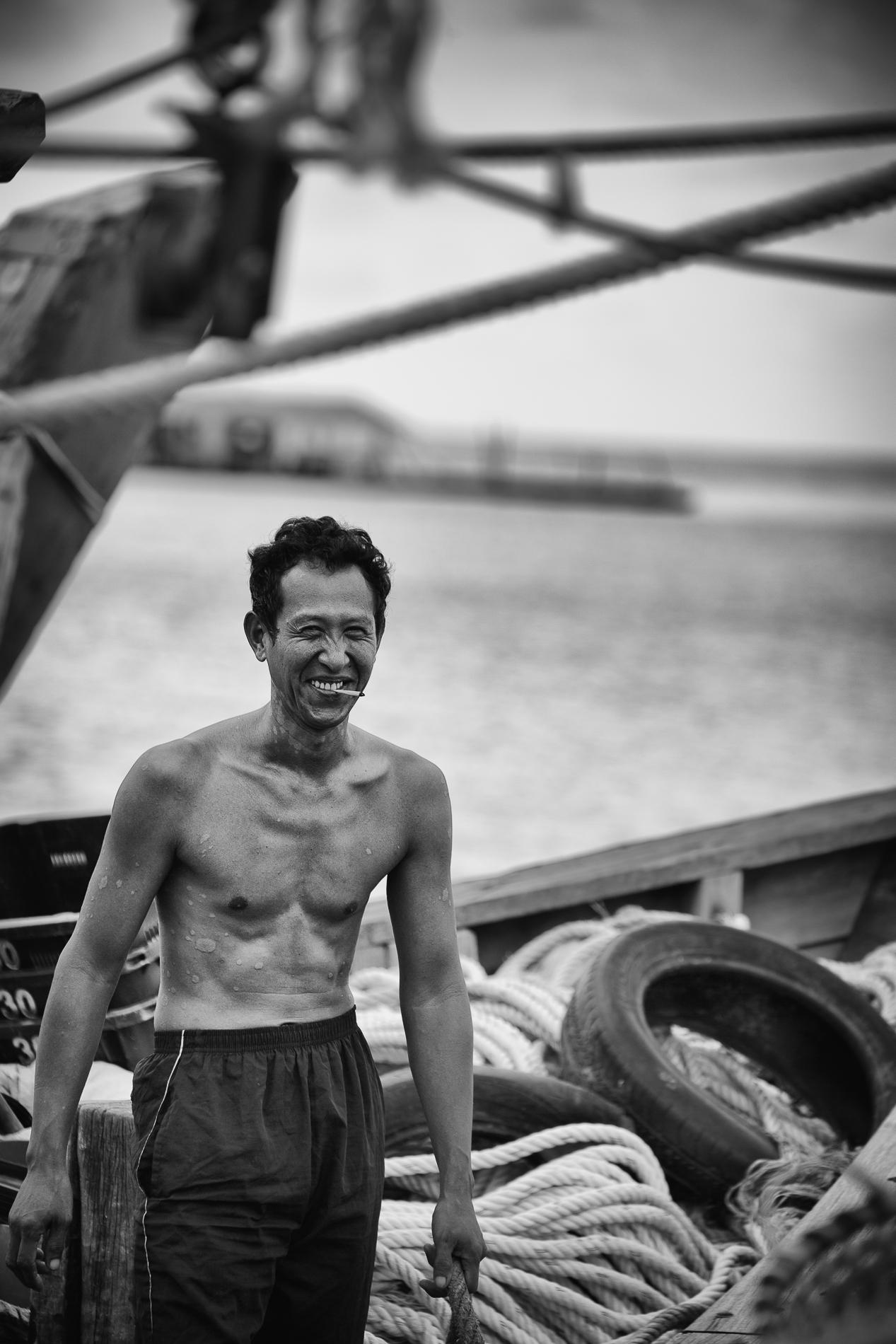 fisherman~ Penang~ Malaysia