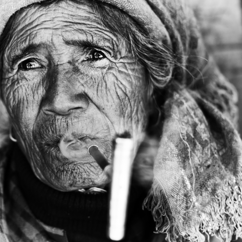 stories of times gone by~ Yunnan~ Yi woman