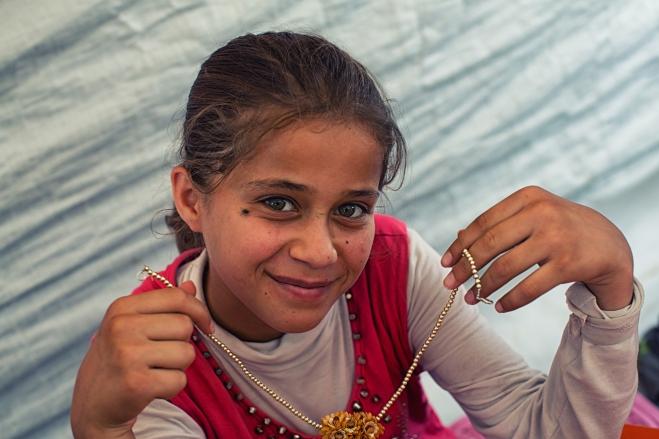 By art she lives~ syrian refugee
