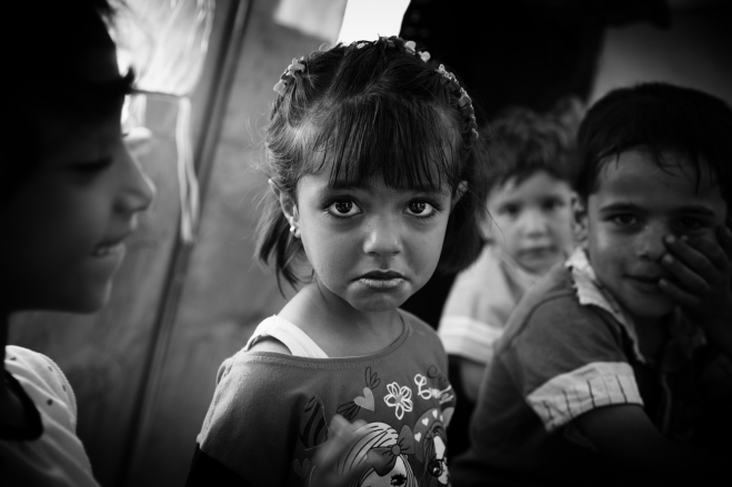 some smiles cannot be forced~ syrian refugee